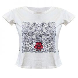 Дамска блуза – Рисувана коприна
